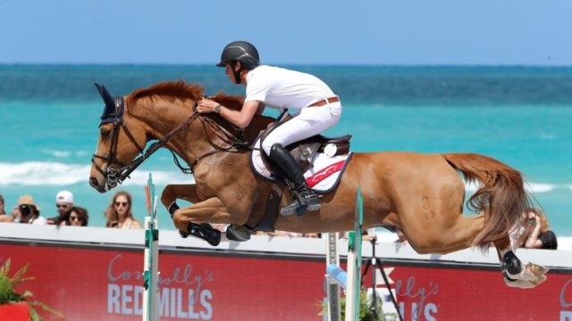 US and International Stars In Action At Breathtaking LGCT Miami Beach
