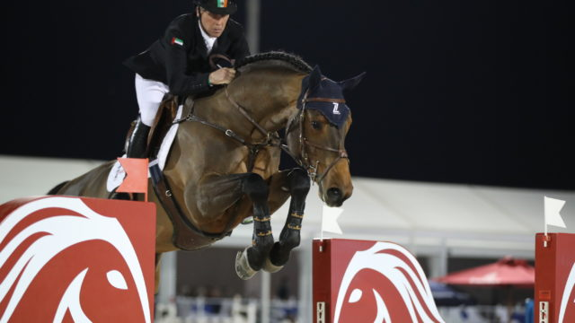 Shane Breen stars at the head of RED MILLS Hickstead success