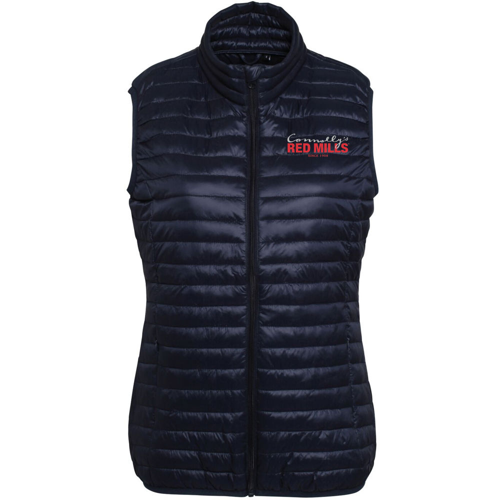 RED MILLS womens fitted puffer gilet